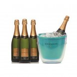 Kit Chandon 4 Garrafa 750 ml + Balde Colors Collection