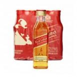 Whisky Johnnie Walker Red Label Miniatura 50 ml