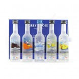 Kit Vodka Grey Goose Collection 5X50 ml