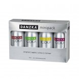Kit Vodka Danzka 4 X 50 ml