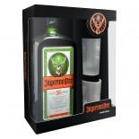 Kit Aperitivo Jagermeister 700 ml + 2 Copos