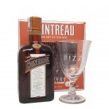 Kit Licor Cointreau 700 ml + Taça