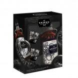 Rum Kraken 750 ml com Kit 2 Copos