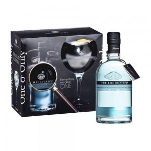 Kit Gin The London Nº 1  750 ml com Taça