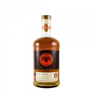 Rum Bacardi 8 Anos 1000 ml