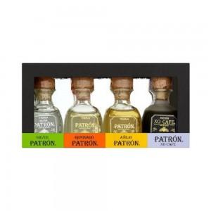 Kit Tequila Patron 4X50 ml