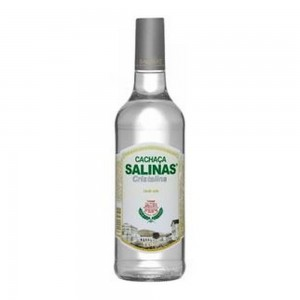 Cachaça Salinas Cristalina 1000 ml