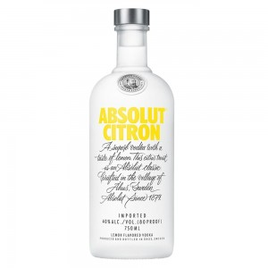 Vodka Absolut Citron 750 ml