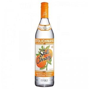 Vodka Stolichnaya Orange 1000 ml
