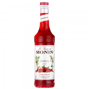 Xarope Monin Cranberry 700 ml