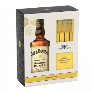Kit Whisky Jack Daniel Honey 750 ml