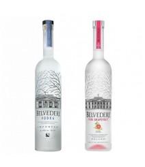 Kit Vodka Belvedere 700 ml + Vodka Belvedere Pink Grapefruit 700 ml