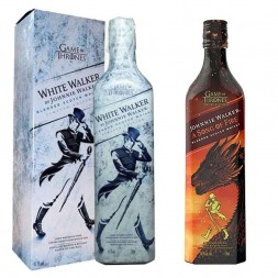Kit Whisky Johnnie Walker Game Of Thrones 750 ml + Whisky Johnnie Walker Song Of Ice 750 ml