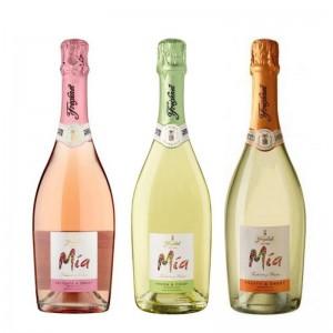Kit Espumante Freixenet Mia Fresh & Crisp 750 ml + Espumante Freixenet Delicate Mia Rose 750 ml + Espumante Freixenet Mia Fruity-Sweet 750 ml
