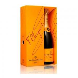 Champagne Veuve Clicquot Brut com Cartucho 750 ml