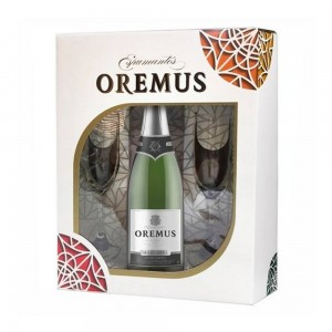 Kit Espumante Oremus Moscatel + Taça 750 ml