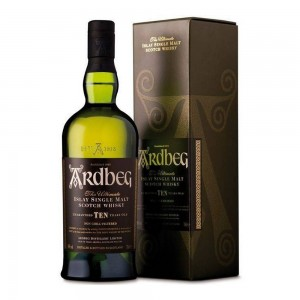 Whisky Ardbeg Islay Single Malt Ten 750 ml