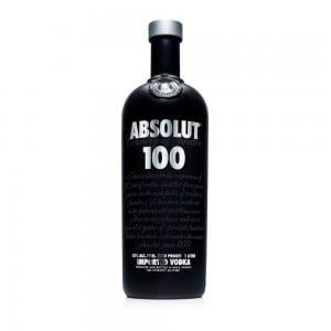 Vodka Absolut 100 1000 ml