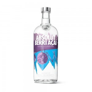 Vodka Absolut Berri Açaí 1000 ml
