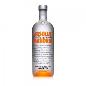 Vodka Absolut Mandrin 1000 ml