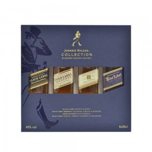 Kit Whisky Johnnie Walker The Collection - Novo