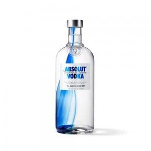 Vodka Absolut Originality Unique Natural 1000 ml