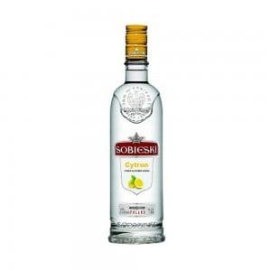 Vodka Sobieski Citron 1000 ml