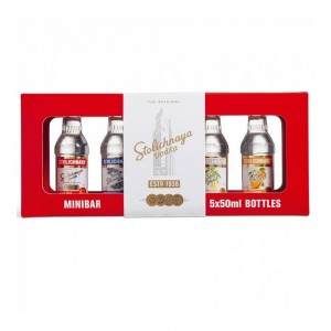 Kit Vodka Stolichnaya Mini 5X50 ml