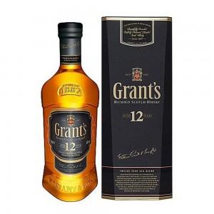 Whisky Grants 12 Anos 1000 ml