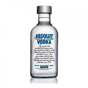 Vodka Absolut 200 ml