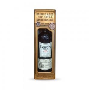 Whisky Dewars 12 Anos 1000 ml Lata