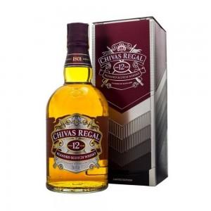 Whisky Chivas Regal 12 Anos Lata 750 ml