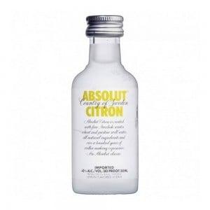 Vodka Absolut Citron 50 ml