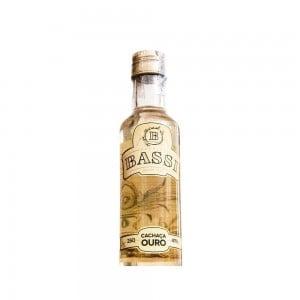 Cachaça Bassi Ouro 250 ml