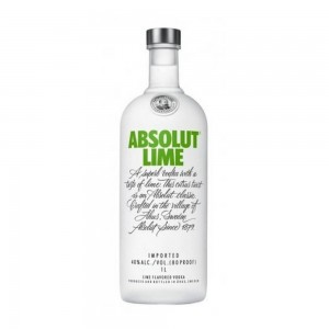 Vodka Absolut Lime 1000 ml