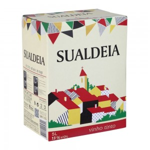 Vinho Sualdeia Tinto Bag 5000 ml
