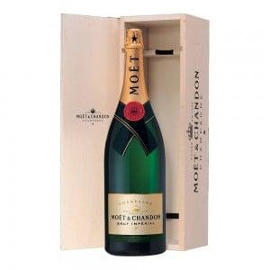 Champagne Moet Imperial Brut Jeroboam 3000 ml Cx Madeira