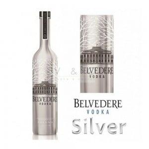 Vodka Belvedere Silver com Led 1750 ml