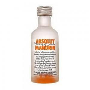Vodka Absolut Mandrin 50 ml