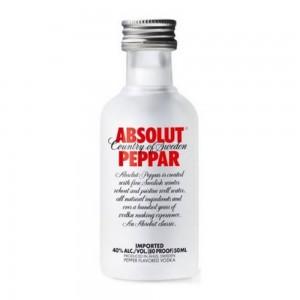 Vodka Absolut Peppar 50 ml