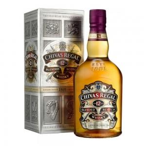 Whisky Chivas Regal 12 Anos 750 ml