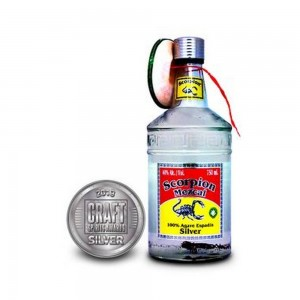 Tequila Scorpion Mezcal Silver 750 ml