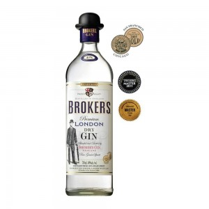 Gin Brokers Premium London 750 ml