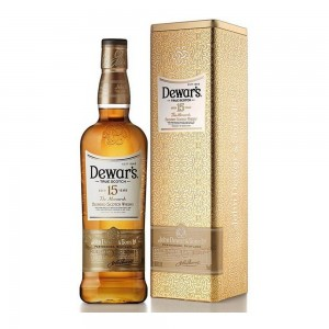 Whisky Dewars 15 Anos Lata 1000 ml