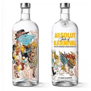 Vodka Absolut Karnival 1000 ml