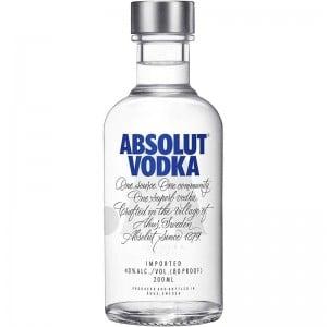 Vodka Absolut 200 ml