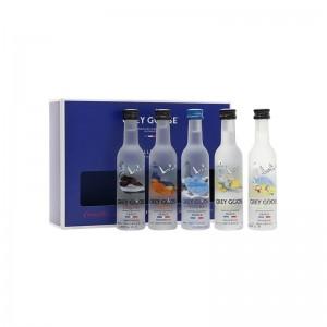 Kit Vodka Grey Goose Collection 5X50 ml