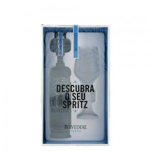 Kit Vodka Belvedere com Taça 700 ml