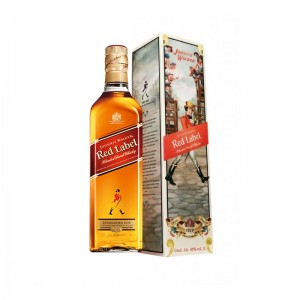 Whisky JW Red Label com Caixa 1929 1000 ml