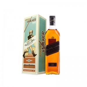 Whisky Jw Black Label com Caixa 1970 1000 ml
